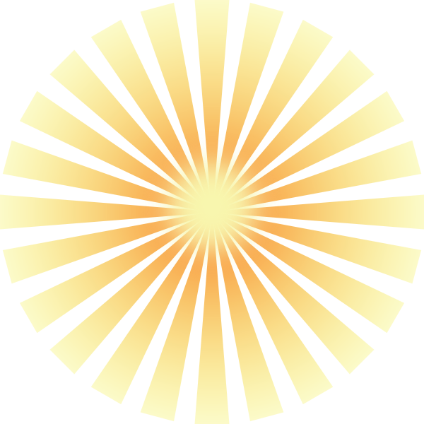 High Resolution Sun Rays Png Icon image #36880