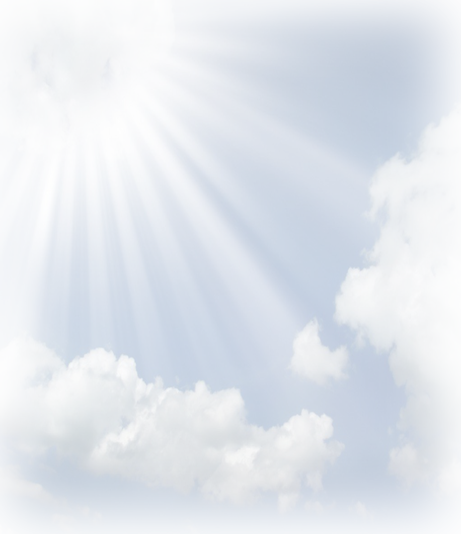 Sun Rays With Cloud Png image #36872