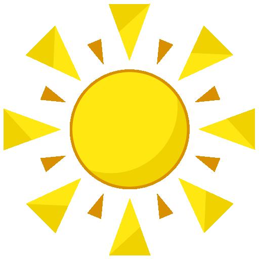 Sun, Summer Png image #41167