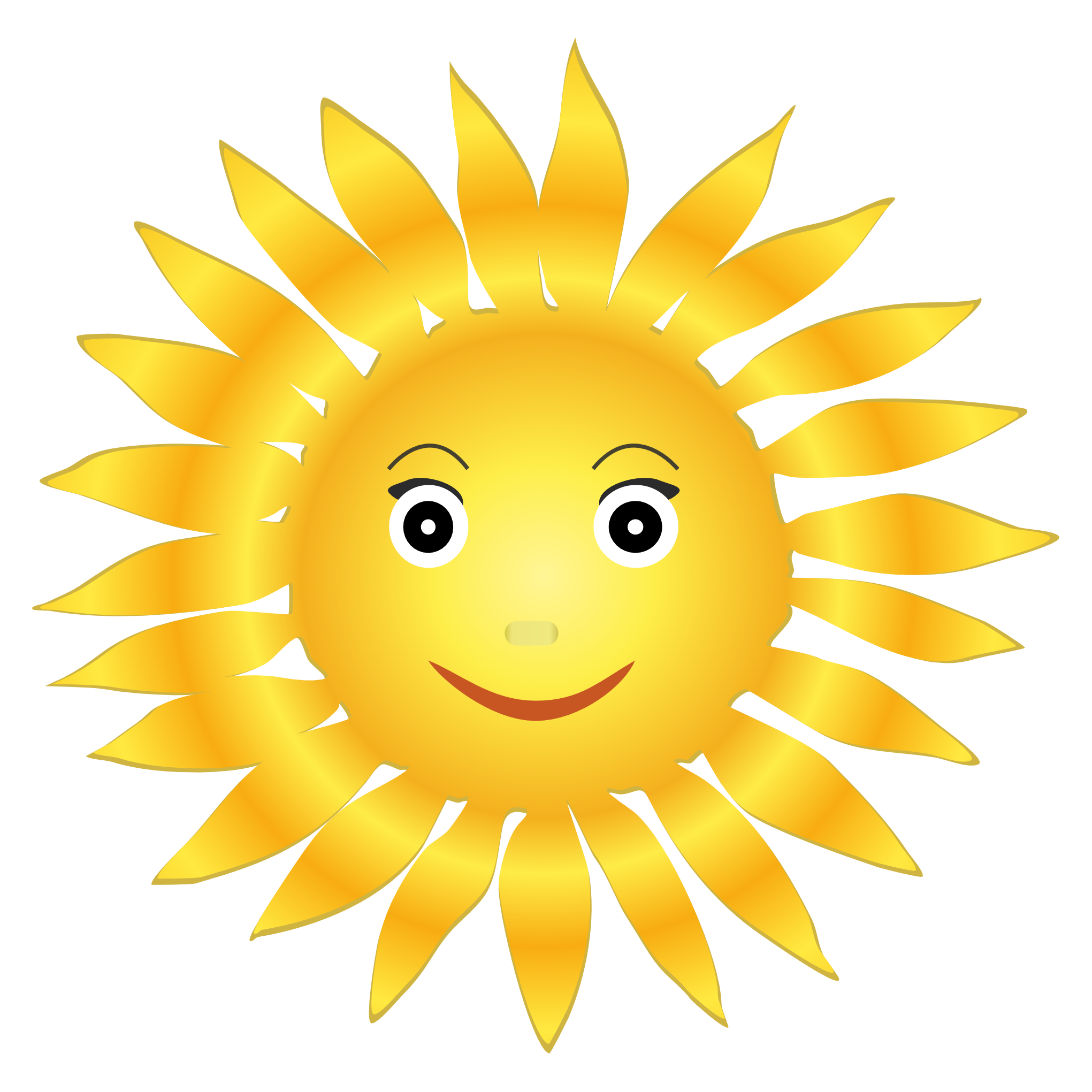 Sunflower Seeds And Sun Smiley Images image #48206