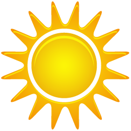 Sunny Simple Png image #23507