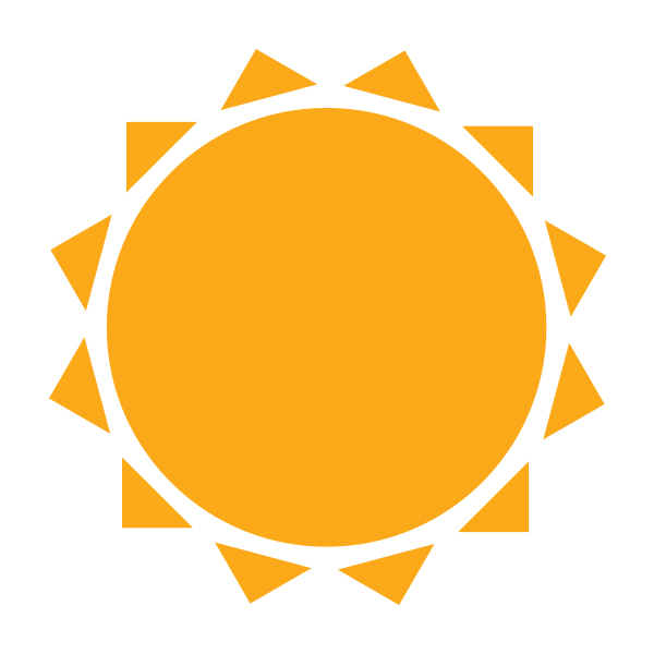 Icon Free Sunny Png image #23512