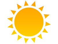 Symbol Icon Sunshine