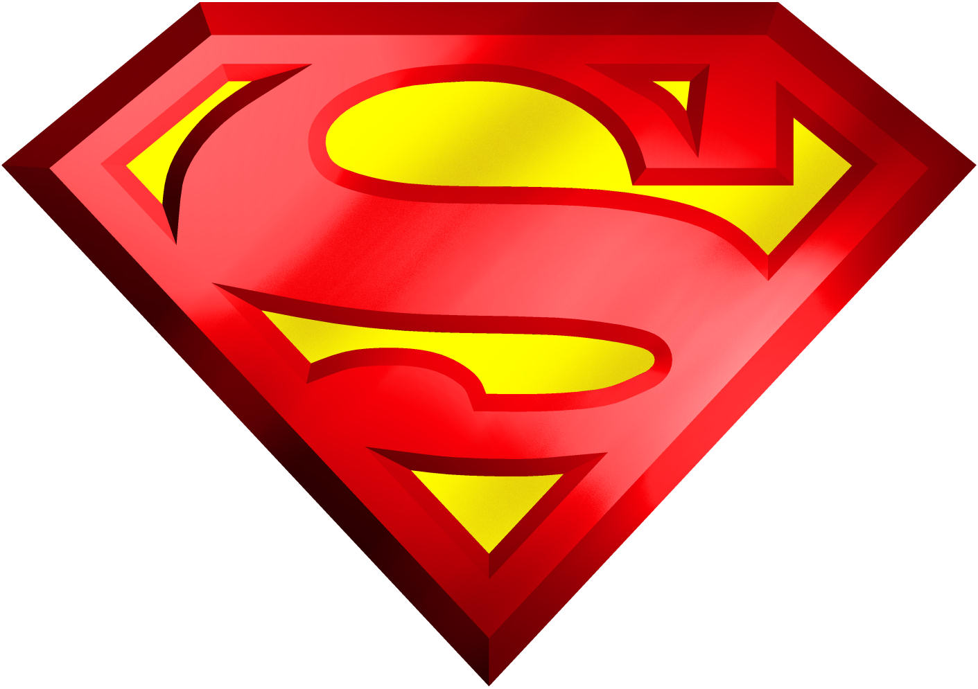 Free Download Of Superman Icon Clipart image #19787