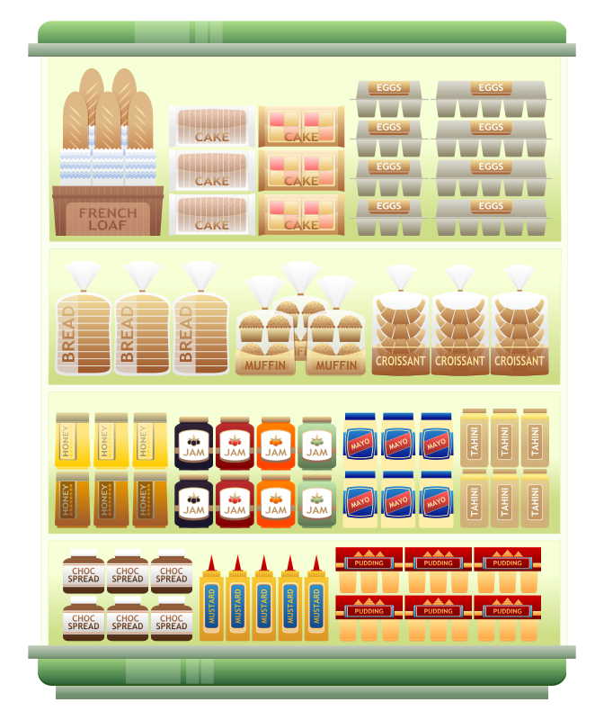 Supermarket Vector Free image #12840