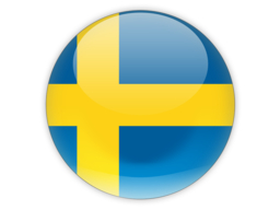 Sweden Flag Icon Vector image #16123