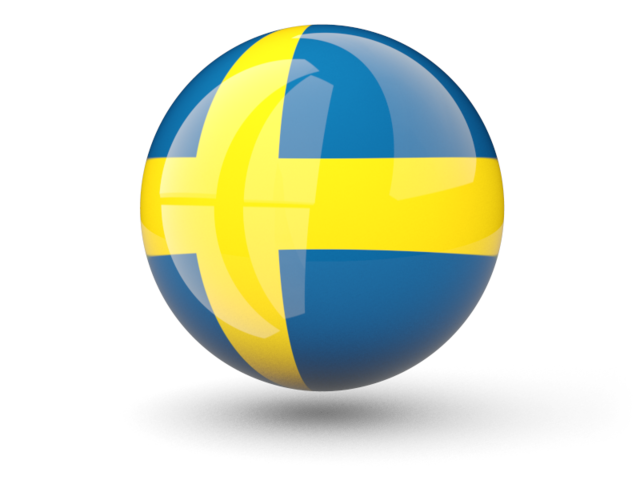 Transparent Icon Sweden Flag