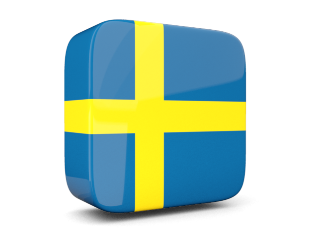 Icon Drawing Sweden Flag
