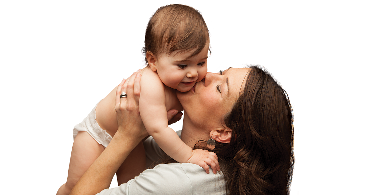 Sweet Mom And Baby Png image #41512