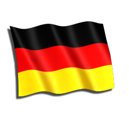 swim brief germany, flag of germany, clip art icon
