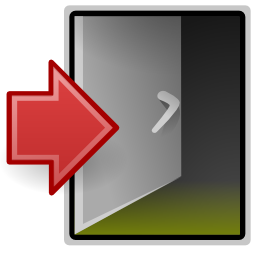 System Exit Icon Png Transparent Background Free Download 4608 Freeiconspng