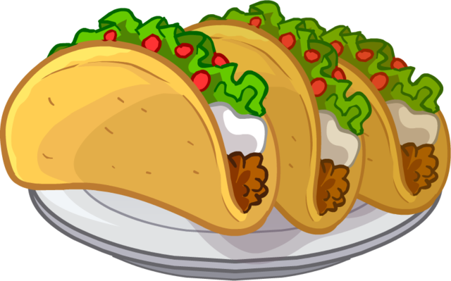 Tacos Puffle Food Png image #2955