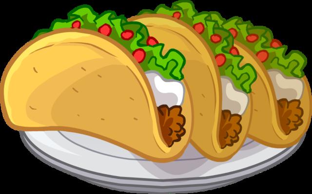 Tacos Puffle Food png