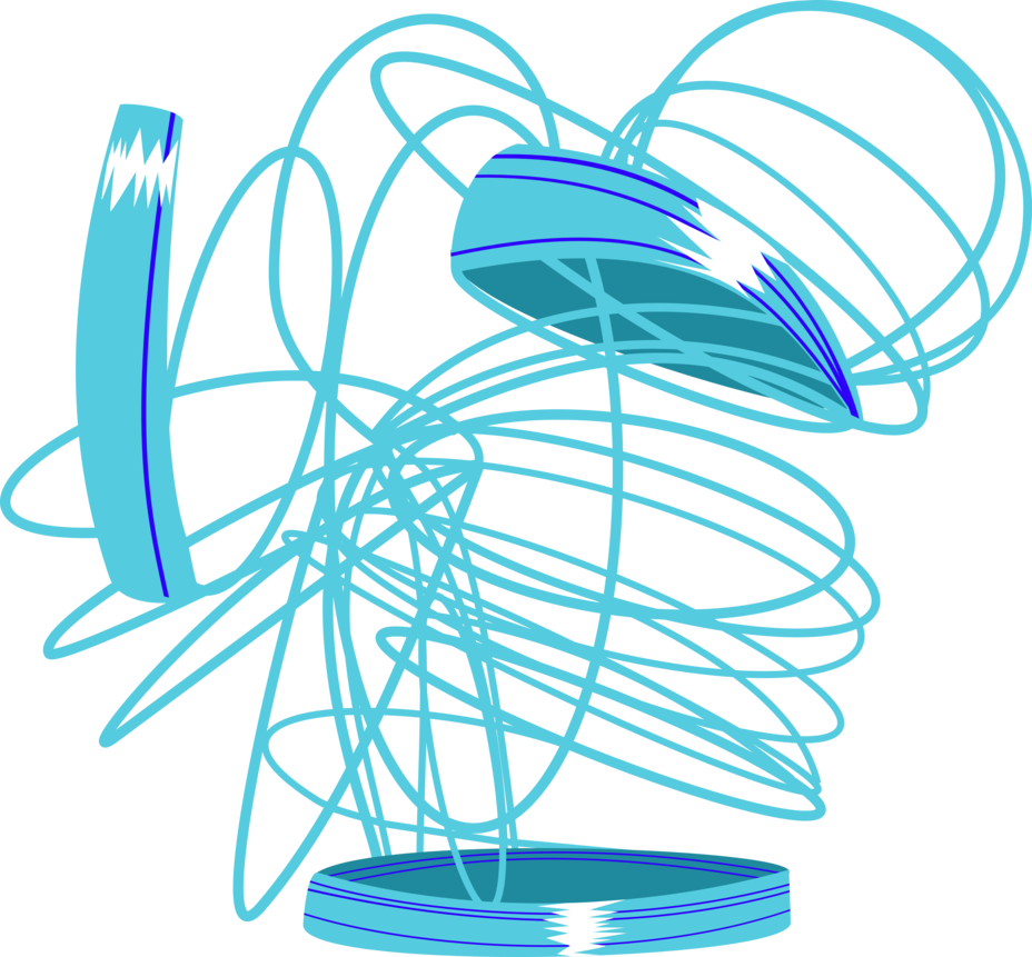 Tangled Slinky Cutie Mark Png image #43469