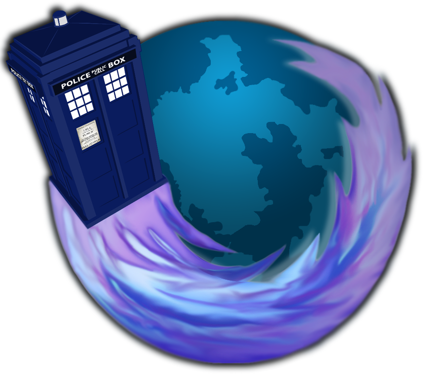 Cool Firefox Icon TARDIS firefox icon #8...