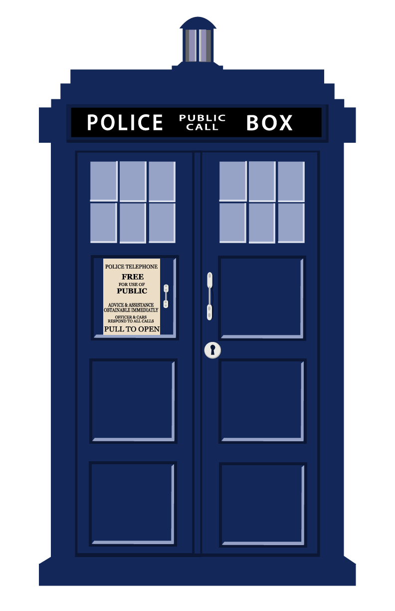 Cost Of Shipping Car >> Vector Free Tardis #8246 - Free Icons and PNG Backgrounds