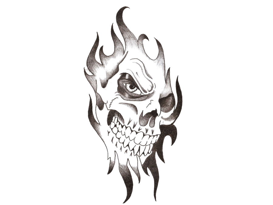 Tattoo Skull Png image #39024