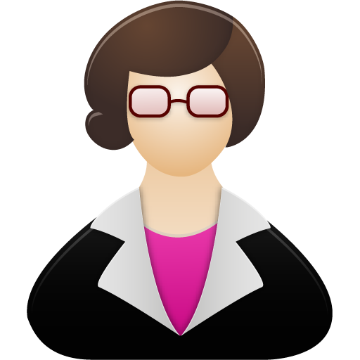 Teacher Female Icon image #7892