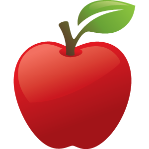Image result for apple teacher, .png