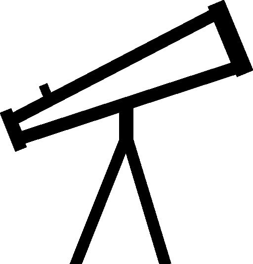 Free High quality Telescope Icon