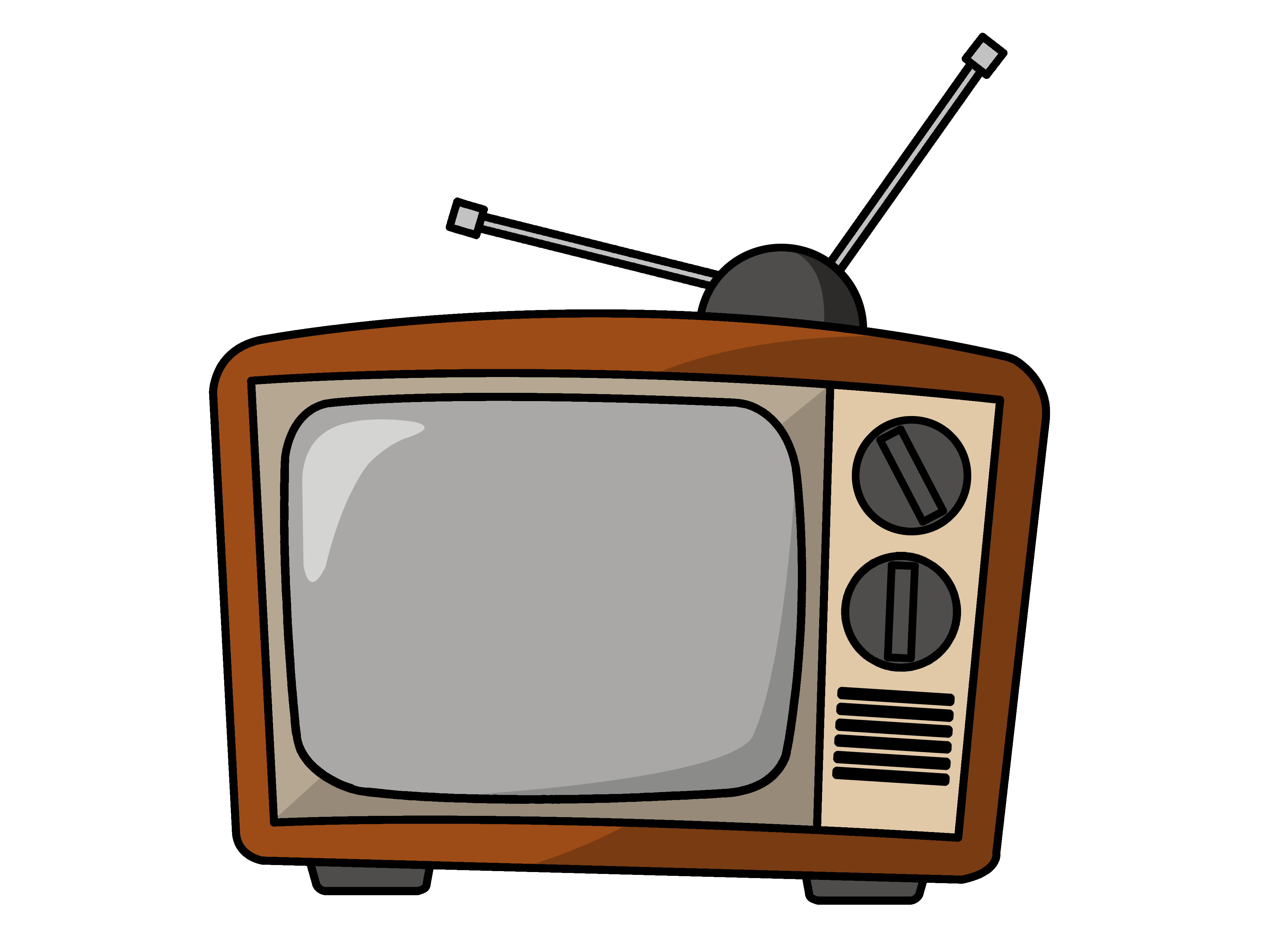 Download Television Tv Free Png Vector image #22257