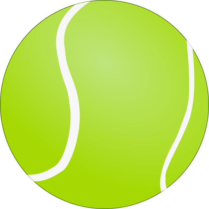 tennis ball clipart picture