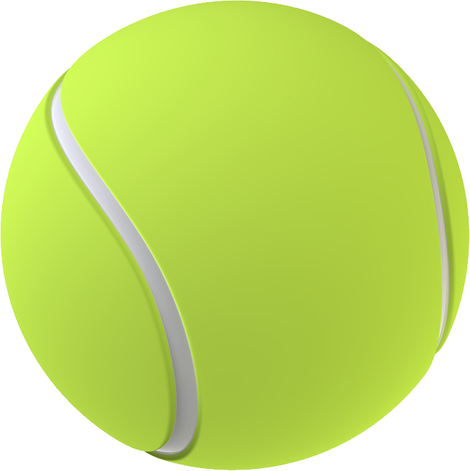 Tennis ball PNG Transparent image