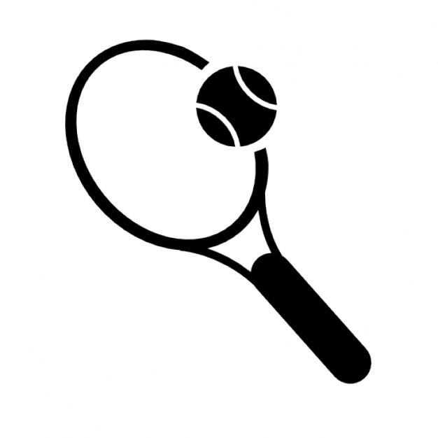 Tennis Vector Drawing
