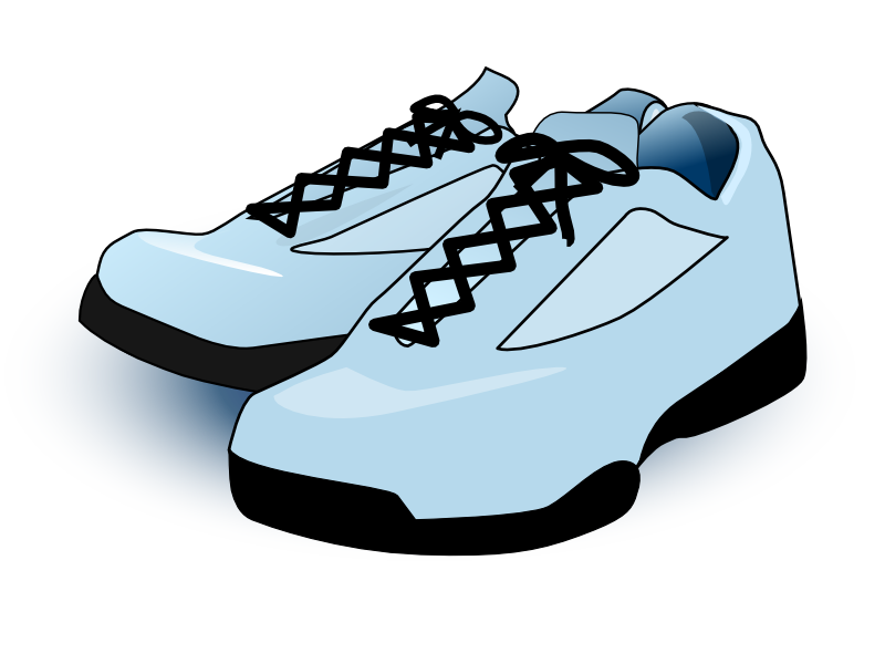 Tennis Shoes Clipart image #45083