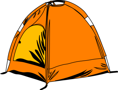 Tent, Campsite Png image #33998