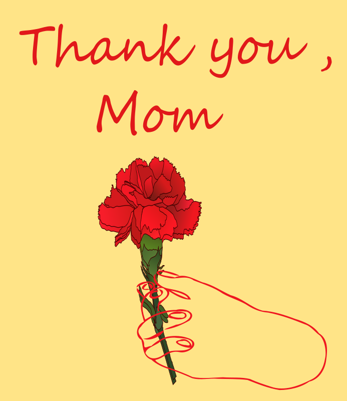 thank you mom, mothers day png