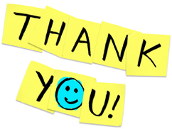 Transparent Thank You Icon image #17604