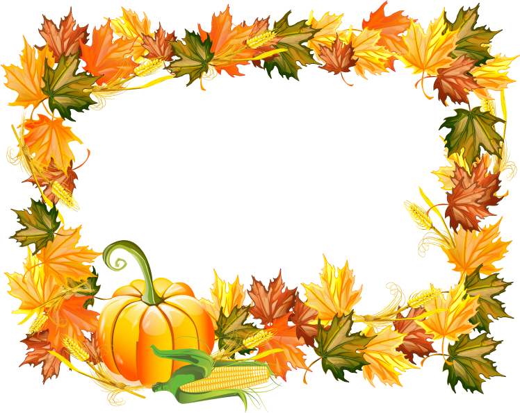 Thanksgiving frame Png #44533 - Free Icons and PNG Backgrounds
