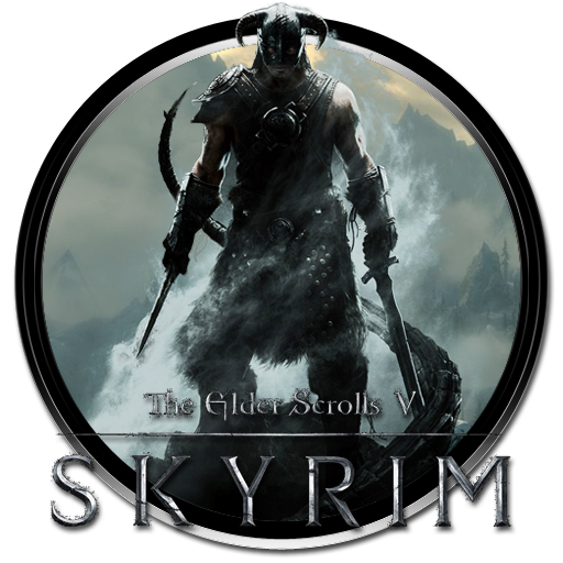 The Elder Scrolls V Skyrim Icon by mohitg