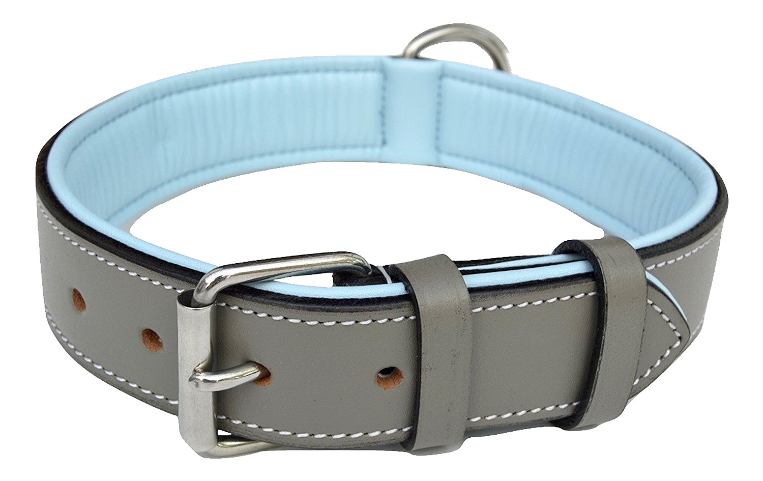 The Spectacular Picture Of Grey Dog Collar Custom Design image #48116