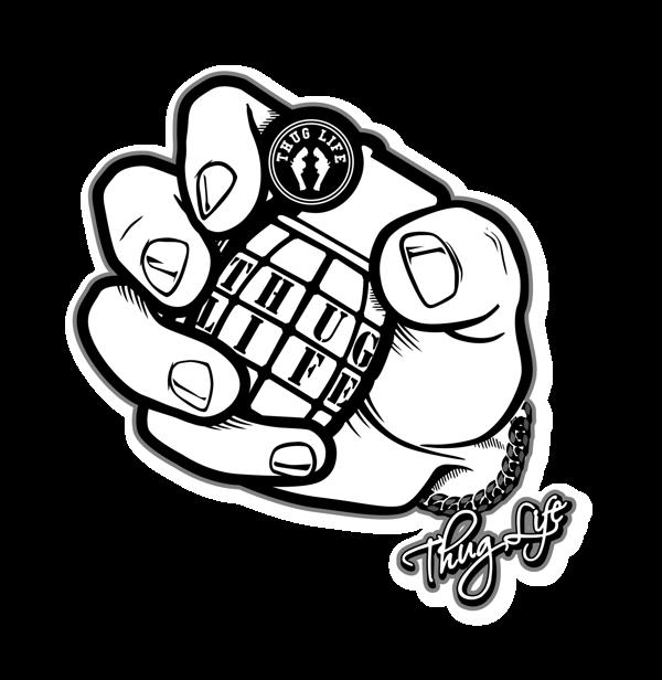 THUG LIFE   Granade On Behance image #557