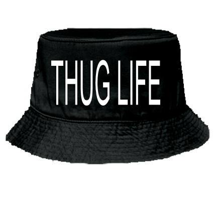 THUG LIFE  Otto Cap 16 097  16 0972030  Custom Heat Pressed
