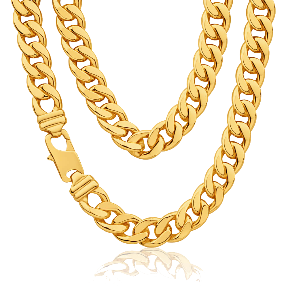 Thug Life Gold Chain PNG Clipart image #42704