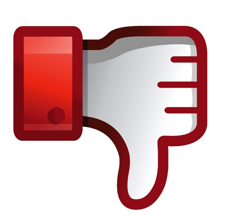 Thumbs Down, Youtube Dislike .ico image #45986