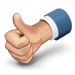 Drawing Vector Thumbs Up image #31159