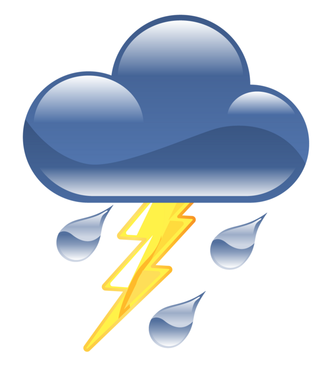 Thunderstorm Png Icon image #15883