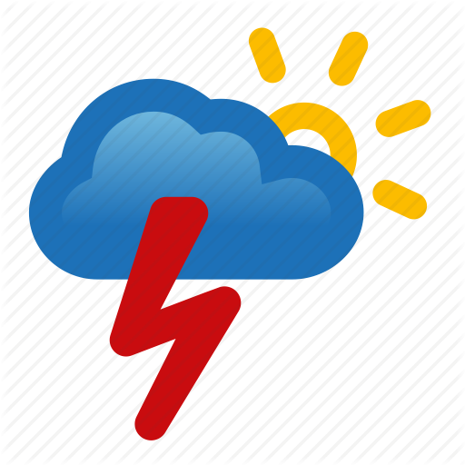 Icon Thunderstorm Transparent image #15893