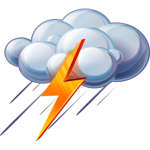 Thunderstorm Icons No Attribution image #15894
