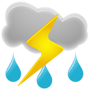 Thunderstorm Simple Png image #15895