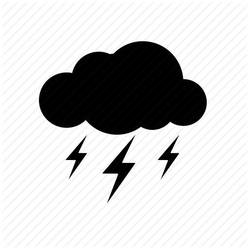 Drawing Thunderstorm Icon image #15897
