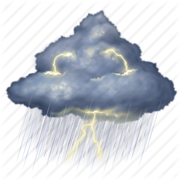 Thunderstorm Icon - Freeiconspng