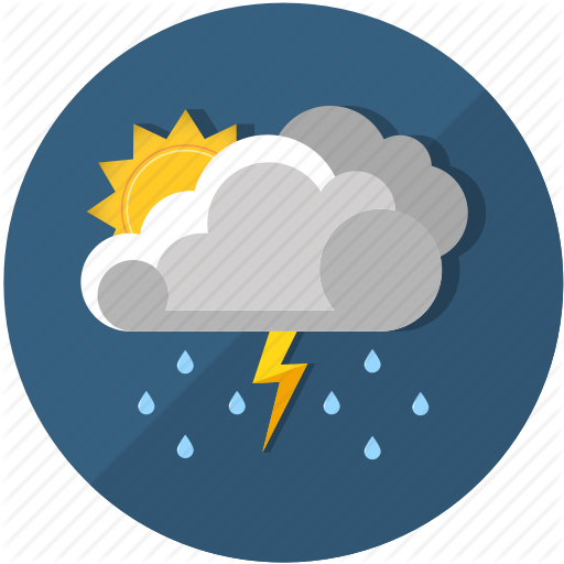 Thunderstorm Png Vector image #15904