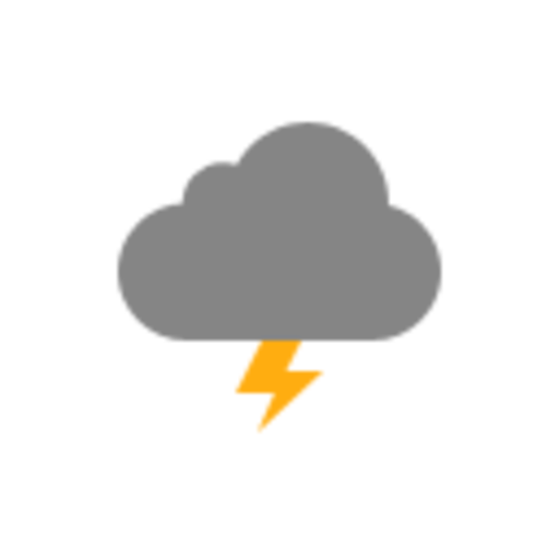 Free High-quality Thunderstorm Icon image #15890