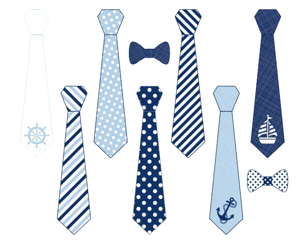 Ties Collection PNG image #42561