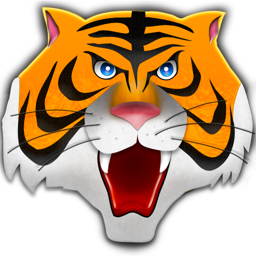 Tiger Head Png image #39201